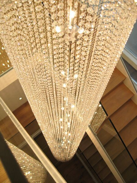 Bespoke Diamante Chandelier 1