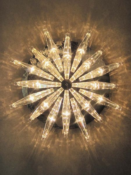 Milano star wall sconce