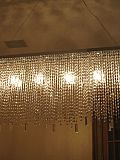 Bespoke Diamante Rec chandelier