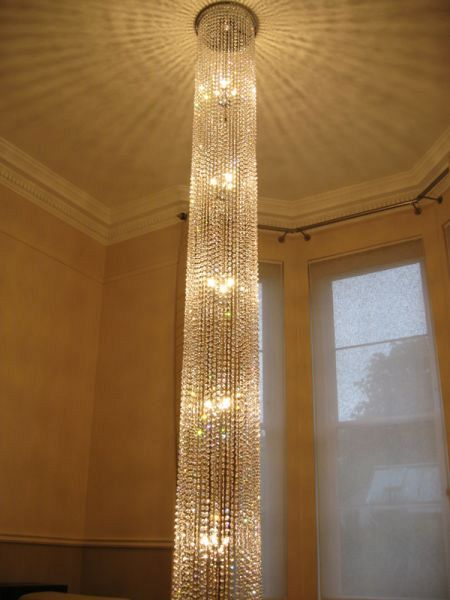Diamante Round Chandelier 1