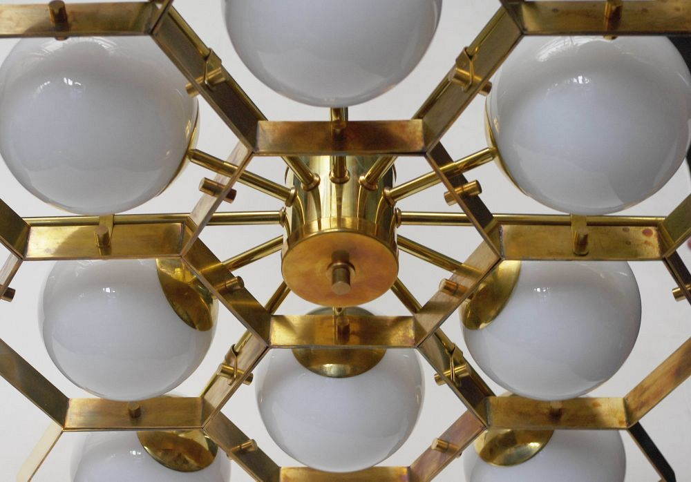 Honeycomb Chandelier 3