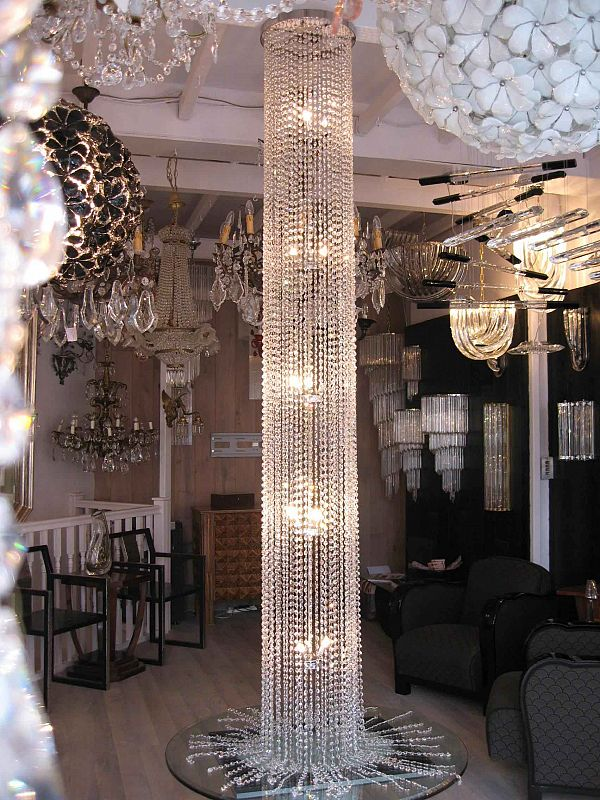 Diamante Round Chandelier 2
