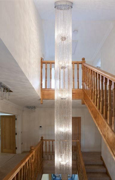 Diamante Round Chandelier 4