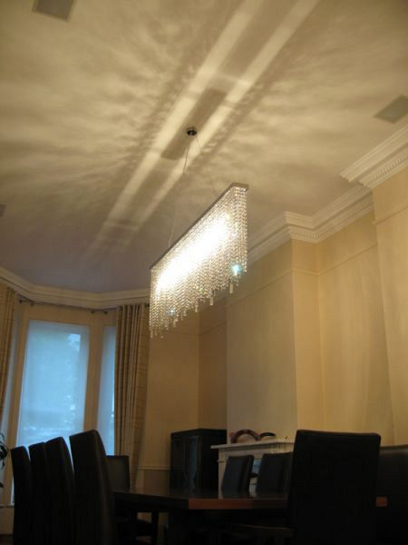 Diamante Rec chandelier Bespoke 2