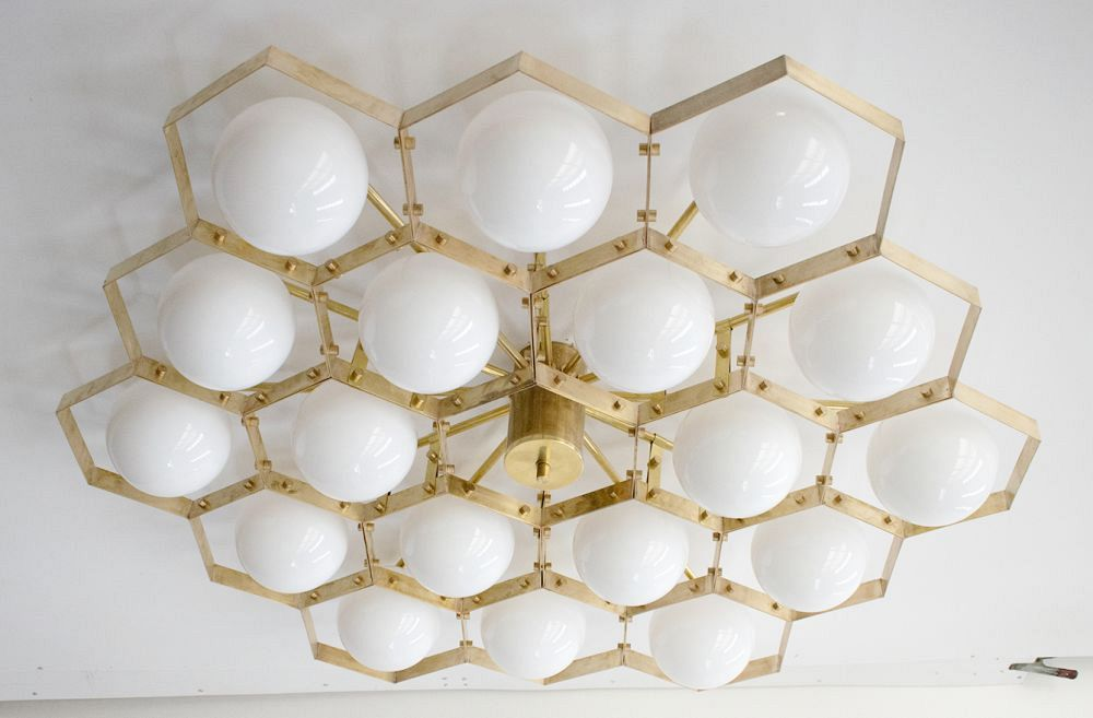 Honeycomb Flush Mount 2