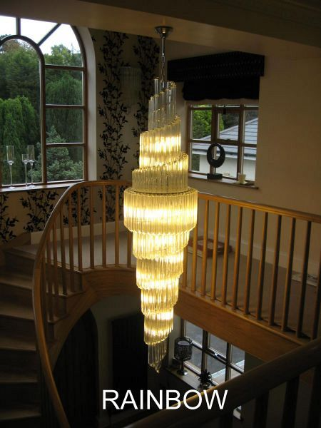 Double Spiral Chandelier 3