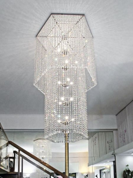 Diamante Hex chandelier