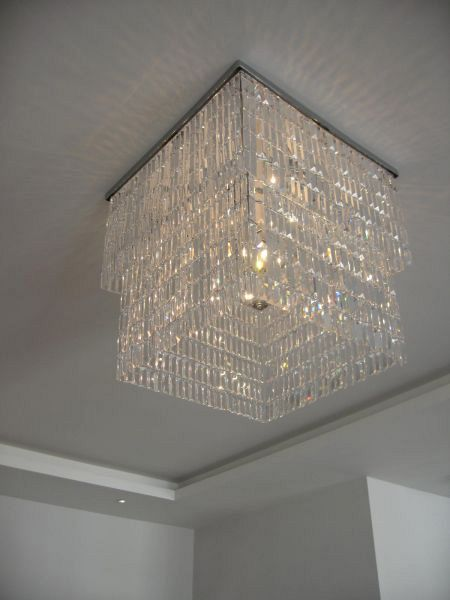 Andrea Crystal Chandelier